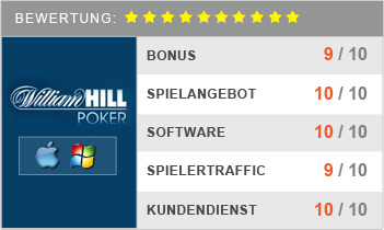 William Hill Poker Bonus Code Fuer Gratisgeschenk